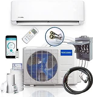 12k BTU 17.5 SEER MrCool DIY Ductless Heat Pump w/WiFi Smart Kit & Install Kit