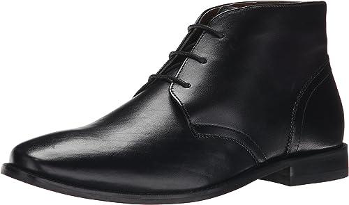 Florsheim Hommes's Montinaro Plain Toe Robe Décontracté Chukka démarrage, noir, noir, 11.5 D US  point de vente