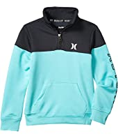 Dri-Fit Solar Fleece 1/2 Zip Color Block Pullover Sweater (Toddler/Little Kids)