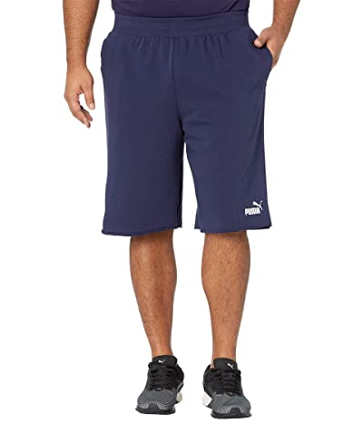 PUMA Big Tall Essential Shorts 12 (Peacoat) Men