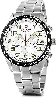 Swiss Alpine Military by Grovana Hombre Reloj Chrono 10 ATM Silver 7047.9132sam