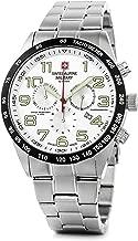 Swiss Alpine Military by Grovana Hombre Reloj Chrono 10ATM Silver 7047.9132sam