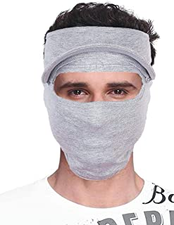MadeEasyProducts Premium quality Unisex Face Mask and anti pollution mask for men and women (Light Grey)