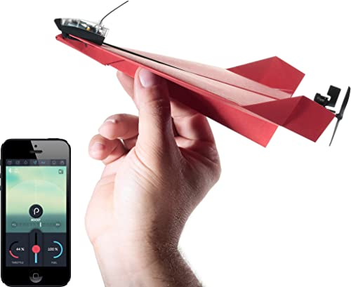 POWERUP 3.0 Original Smartphone Controlled Paper Airplanes Conversion Kit - Durable Remote Controlled RC Airplane for...