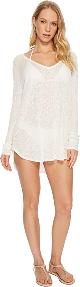 Vitamin A Swimwear Drifter Beach Sweater Cover-Up