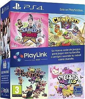 Pack Playlink: Saber es Poder + Chimparty + Frantics + Melbits