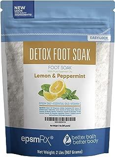 epsom salt for feet pain