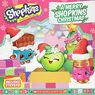 A Merry Shopkins Christmas (Shopkins: 8x8 with stickers)