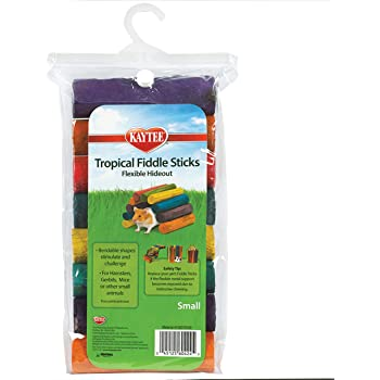 Superpet (Pets International) Kaytee Tropical Fiddle Sticks Hideout Multiple Colors Small