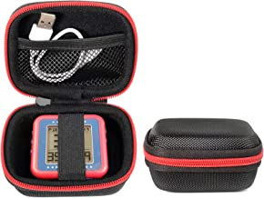 CaseSack Golf GPS Case for Bushnell Phontom Golf GPS, Neo Ghost Golf GPS, Garmin 010-01959-00 Approach G10, Other Handheld GPS, More Room for Cable and Others (Black with Red Zip Contrasted)