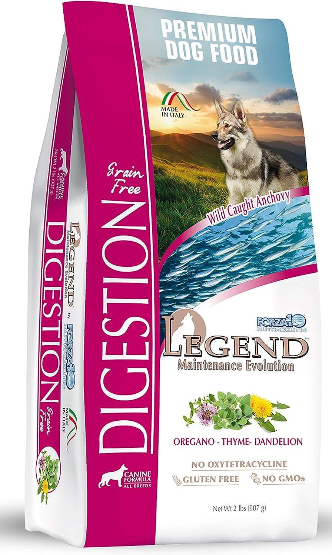 Forza10 Legend Digestion Max 74% OFF Dry Grain Popular brand Sensitive Stom Food Dog Free