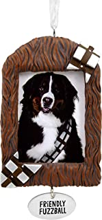 Hallmark Christmas Ornaments, Star Wars Chewbacca Pet Picture Frame Ornament