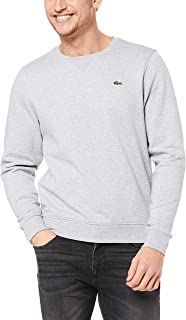 Lacoste Men's Basic Crew Neck Sweatshirt
