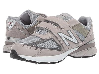 New Balance Kids 990v5 (Little Kid) (Grey) Kids Shoes