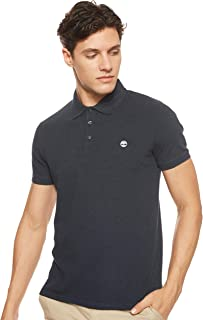 Timberland Men's Millers River Stretch Fitted SS Polo