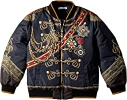 Dolce & Gabbana Kids - Heraldic Bomber Jacket (Toddler/Little Kids)