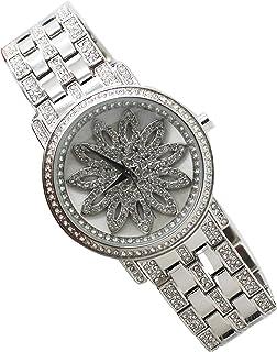 Diamond Dior Dress Watch For Women Analog Stainless Steel - D0946369