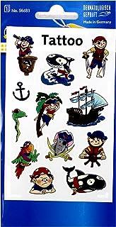 """Avery ändamålsform Z-design barn tatueringar pirater """""""