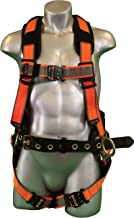 Warthog Comfort MAXX Construction Harness with Removable Belt, Side D-Rings and Additional Thick Padding (XXXL), OSHA/ANSI/CSA Compliant
