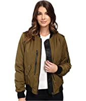 Blank NYC - Bomber Jacket in She's a Toad