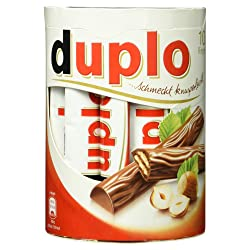 Ferrero Duplo, 10 Riegel, 182 g Packung