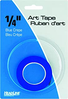 Headline Sign 73044 Graphic Art Tape, Blue, 1/4-Inch Wide, 324 Inches Long