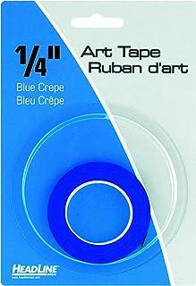 شريط فني تصويري 73044، أزرق، عرض 1/4 بوصة، طول 824 بوصة