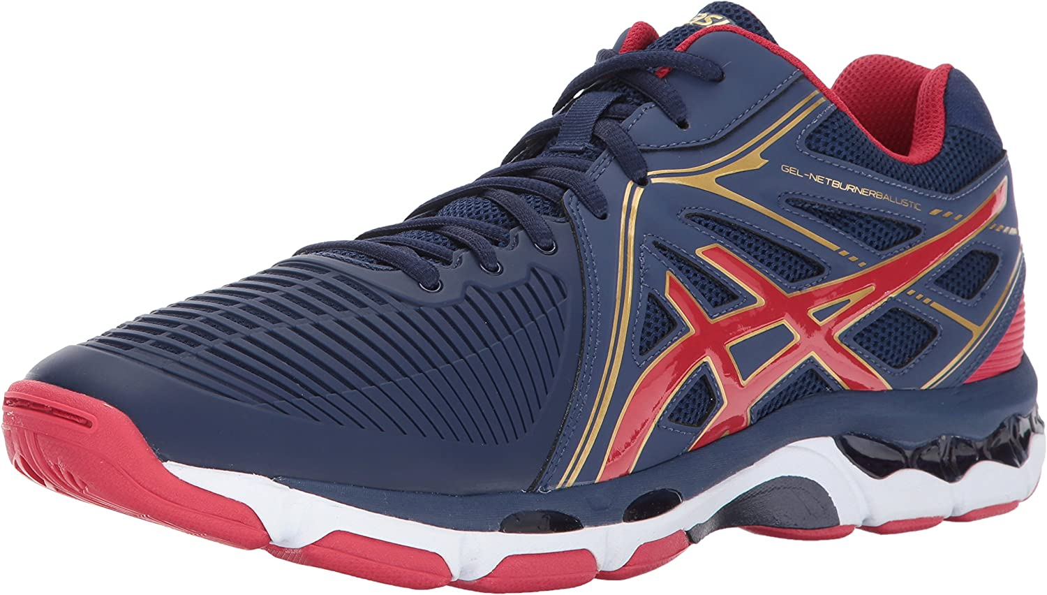 OFFicial ASICS Men's Gel-Netburner Ballistic Volleyball Shoe Animer and price revision MT