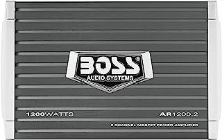 BOSS Audio Systems AR1200.2 2 Channel Car Amplifier -...