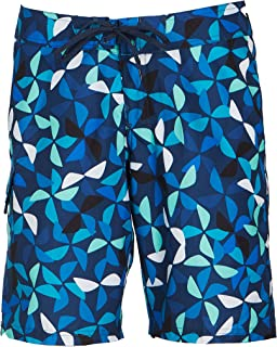 Kanu Surf Women's Audrey UPF 50+ Active Printed Swim and Workout Board Short