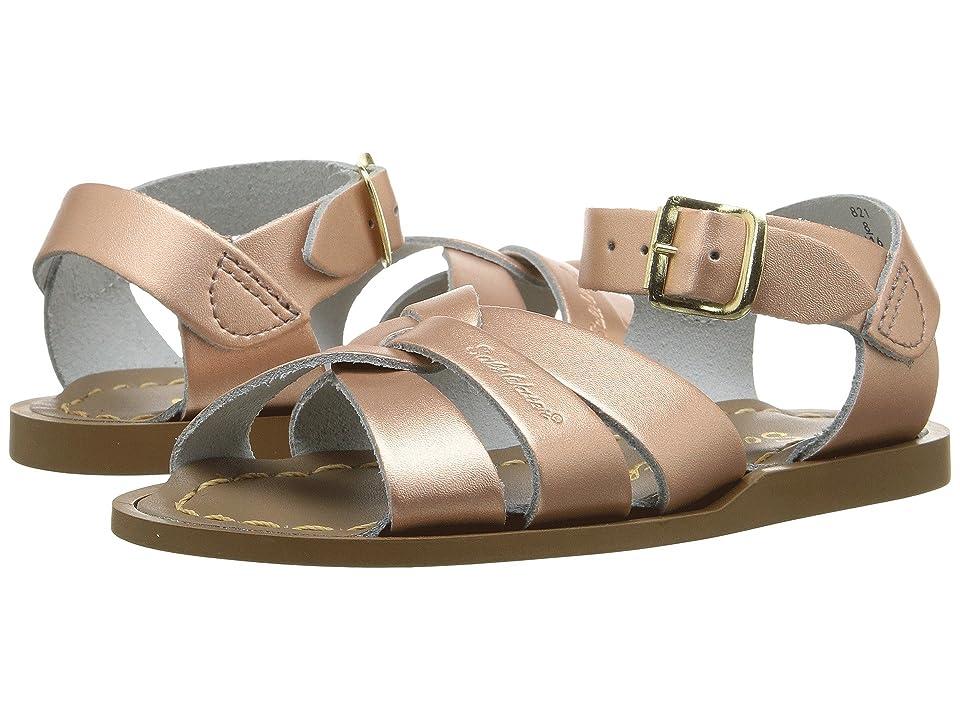 Salt Water Sandal by Hoy Shoes The Original Sandal (Infant/Toddler) (Rose Gold) Girls Shoes