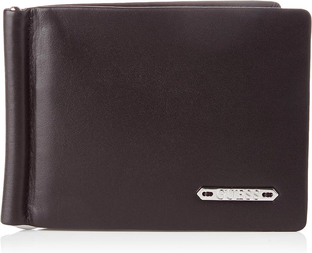 Guess portafoglio da uomo porta carte di credito in pelle SMCLIVLEA20