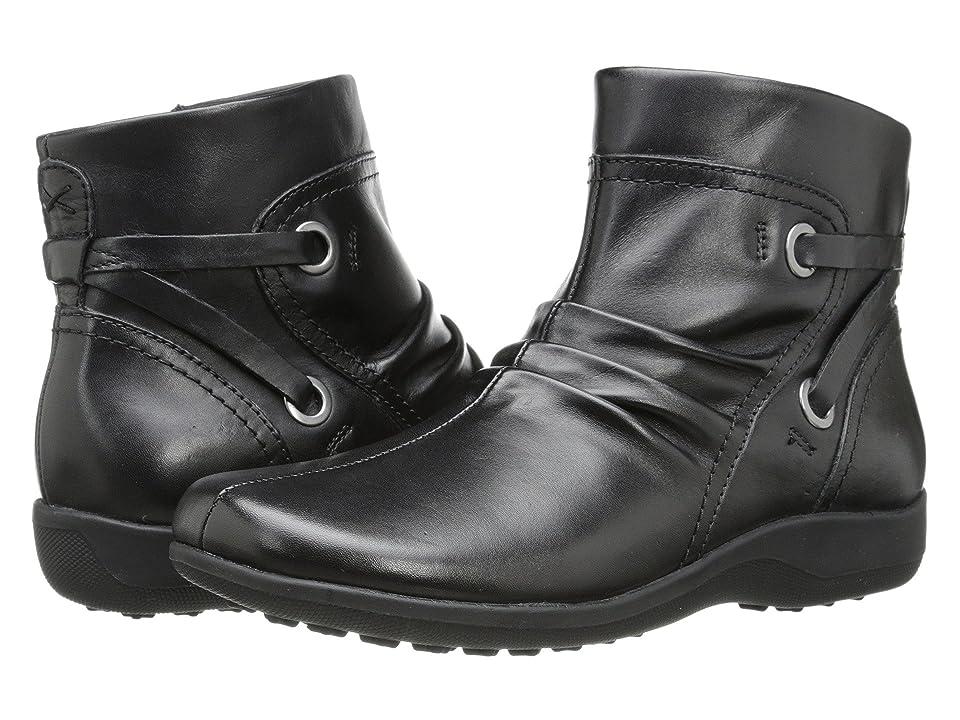 Walking Cradles Zinc (Black Leather) Women