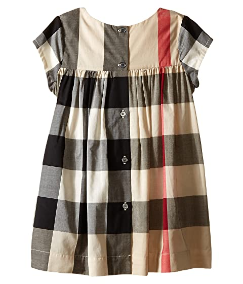 c298dcd75249 Burberry Kids Check Dress w/ Ruched Panel (Infant/Toddler) at Luxury ...