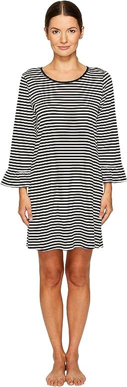 Kate Spade New York - Ruffle Sleeve Sleepshirt