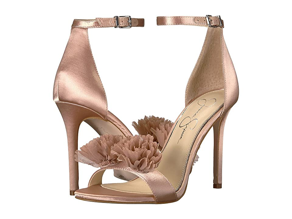 Jessica Simpson Jeena (Nude Blush Crystal Satin) Women