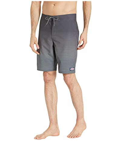 Vineyard Vines Long Beach Striped Boardshorts (Evening Sky) Men