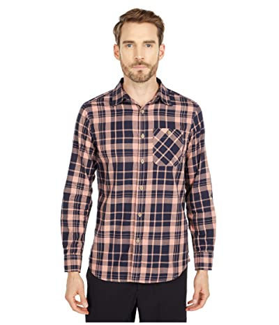 The North Face Hayden Pass 2.0 Shirt (Pink Clay Heritage Medium Two-Color Plaid) Men