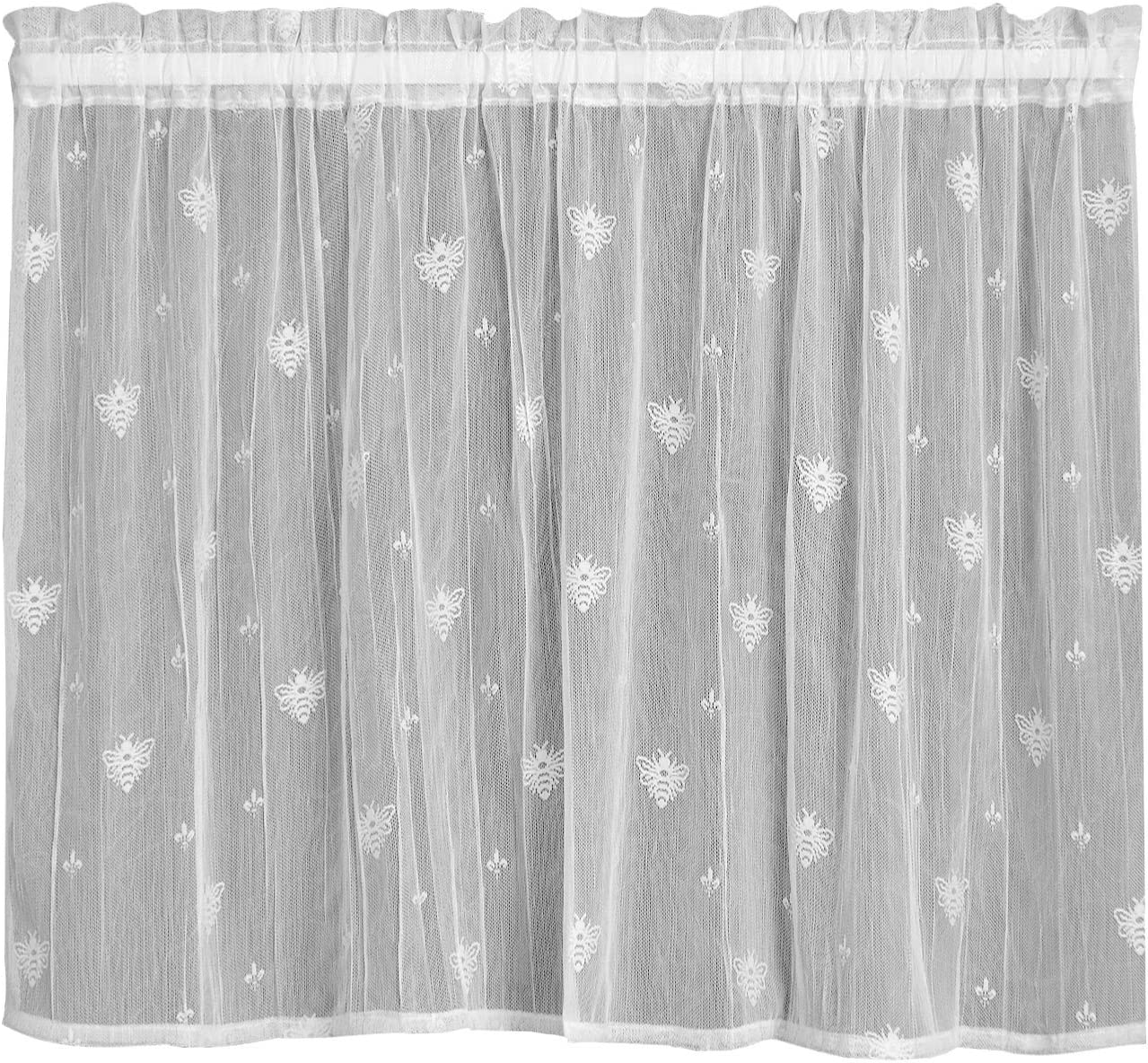 Heritage Lace Superior Bee Tier by 45 White 36-Inch 4 years warranty