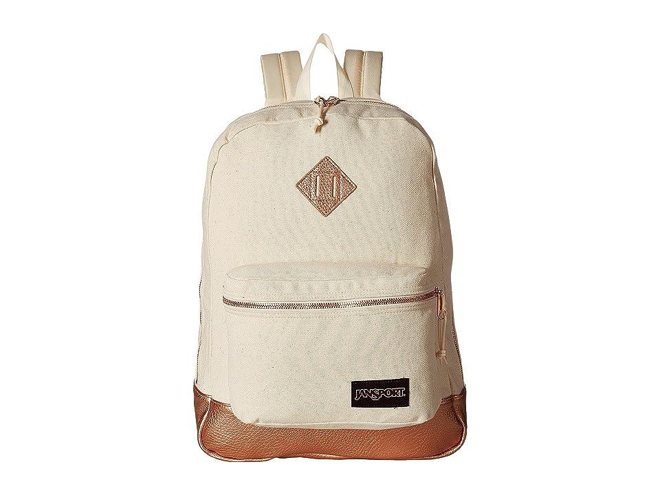 JanSport Super FX (Rose Gold) Backpack Bags
