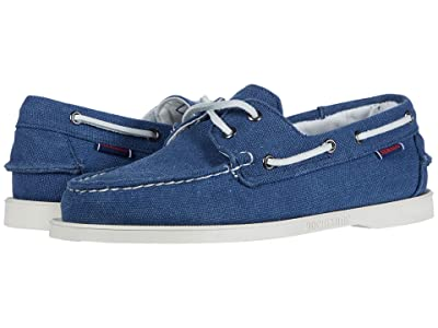 Sebago Portland Zen Canvas (Blue True) Men