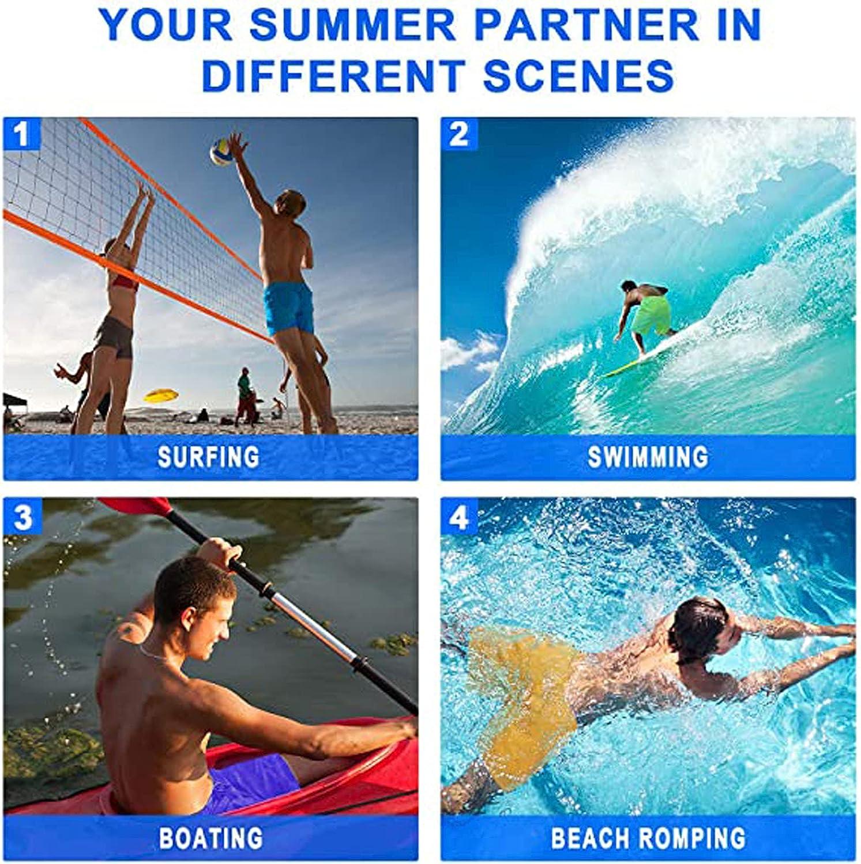 Mens Shorts Swim Trunks 3D Print Beach Board Short Quick-Dry Hawaii Swimwear with Pockets Plus Size Shorts
