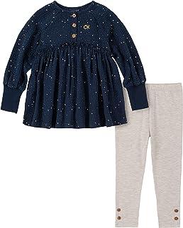 Calvin Klein Conjunto de leggings de 2 piezas para niñas