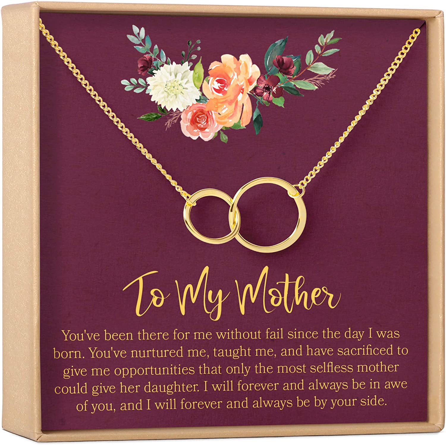 Mother Daughter Animer and price revision Gift Necklace Mother's Mom Max 56% OFF for Gifts Day