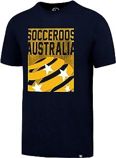 Socceroos Mens Navy '47 Scrum Tee, Navy
