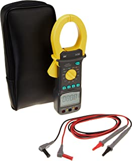 B&K Precision 369BTCAL AC/DC Multifunction True RMS Current Clamp Meter, 400/1000 Amp AC/DC Current Range with a NIST-Traceable Calibration Certificate with Data