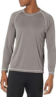 Men's Long-Sleeve Quick-Dry UPF 50 Swim Tee