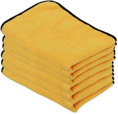 popular Simple Houseware 6PK Premium Microfiber online Towel, popular Orange sale