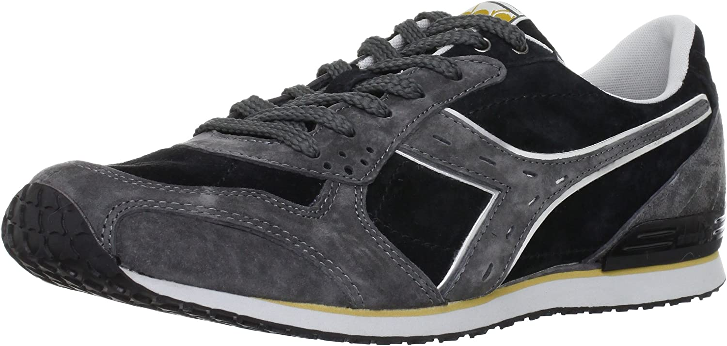 Diadora Man Sneaker shoes Black and Grey Code CRYPTON S FW12 157259 01 C0732