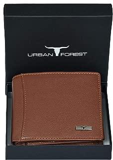 Urban Forest Oliver RFID Blocking Light Brown Leather Wallet for Men - Men's Leather Wallet